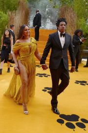 Beyonce and Jay-Z attends Disney's The Lion King European Premiere in Leicester Square, London 2019/07/14 3