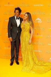 Beyonce and Jay-Z attends Disney's The Lion King European Premiere in Leicester Square, London 2019/07/14 9