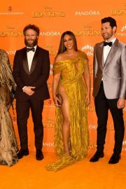 Beyonce and Jay-Z attends Disney's The Lion King European Premiere in Leicester Square, London 2019/07/14 11