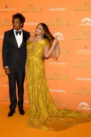 Beyonce and Jay-Z attends Disney's The Lion King European Premiere in Leicester Square, London 2019/07/14 12