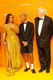 Beyonce and Jay-Z attends Disney's The Lion King European Premiere in Leicester Square, London 2019/07/14 13