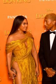 Beyonce and Jay-Z attends Disney's The Lion King European Premiere in Leicester Square, London 2019/07/14 20