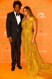 Beyonce and Jay-Z attends Disney's The Lion King European Premiere in Leicester Square, London 2019/07/14 22