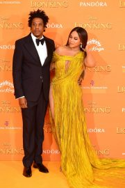 Beyonce and Jay-Z attends Disney's The Lion King European Premiere in Leicester Square, London 2019/07/14 24
