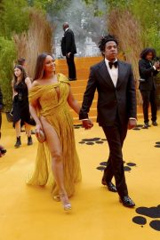 Beyonce and Jay-Z attends Disney's The Lion King European Premiere in Leicester Square, London 2019/07/14 26