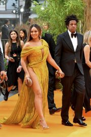Beyonce and Jay-Z attends Disney's The Lion King European Premiere in Leicester Square, London 2019/07/14 32