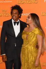 Beyonce and Jay-Z attends Disney's The Lion King European Premiere in Leicester Square, London 2019/07/14 33