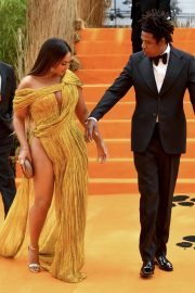 Beyonce and Jay-Z attends Disney's The Lion King European Premiere in Leicester Square, London 2019/07/14 35