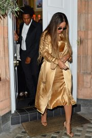 Beyonce and Jay-Z Leaves at Harry's Bar in London 2019/07/14 10