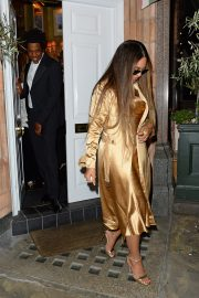 Beyonce and Jay-Z Leaves at Harry's Bar in London 2019/07/14 11