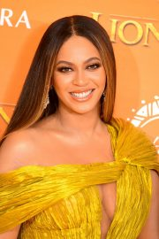 Beyonce attends Disney's The Lion King European Premiere in Leicester Square, London 2019/07/14 2