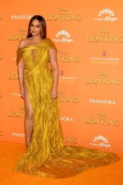 Beyonce attends Disney's The Lion King European Premiere in Leicester Square, London 2019/07/14 5