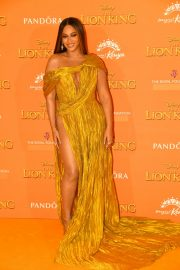 Beyonce attends Disney's The Lion King European Premiere in Leicester Square, London 2019/07/14 7