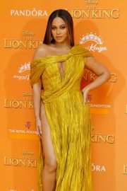 Beyonce attends Disney's The Lion King European Premiere in Leicester Square, London 2019/07/14 8