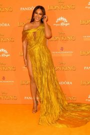 Beyonce attends Disney's The Lion King European Premiere in Leicester Square, London 2019/07/14 10