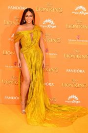 Beyonce attends Disney's The Lion King European Premiere in Leicester Square, London 2019/07/14 11