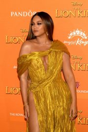 Beyonce attends Disney's The Lion King European Premiere in Leicester Square, London 2019/07/14 12