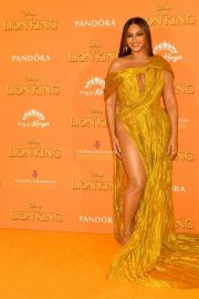 Beyonce attends Disney's The Lion King European Premiere in Leicester Square, London 2019/07/14 13