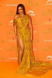 Beyonce attends Disney's The Lion King European Premiere in Leicester Square, London 2019/07/14 15