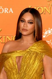 Beyonce attends Disney's The Lion King European Premiere in Leicester Square, London 2019/07/14 16