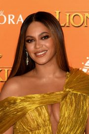Beyonce attends Disney's The Lion King European Premiere in Leicester Square, London 2019/07/14 21