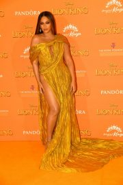 Beyonce attends Disney's The Lion King European Premiere in Leicester Square, London 2019/07/14 25