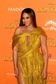 Beyonce attends Disney's The Lion King European Premiere in Leicester Square, London 2019/07/14 26