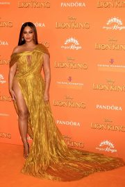 Beyonce attends Disney's The Lion King European Premiere in Leicester Square, London 2019/07/14 30