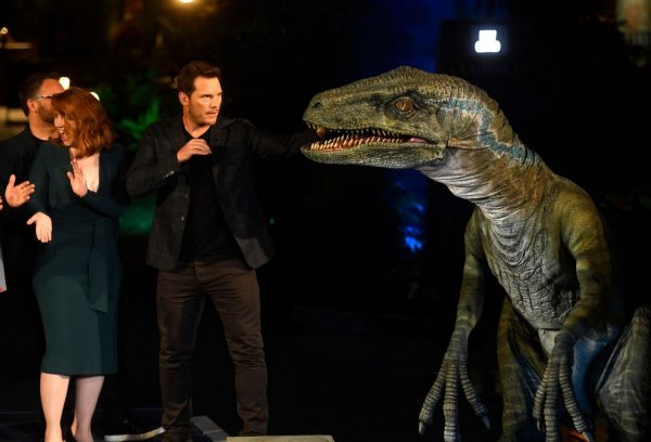 "Bryce Dallas Howard and Chris Pratt attends ""Jurassic World-The Ride"" at Universal Studios Hollywood 2019/07/22 11"