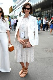Caitriona Balfe attends of the Wimbledon Tennis Championships in London 2019/07/08 1