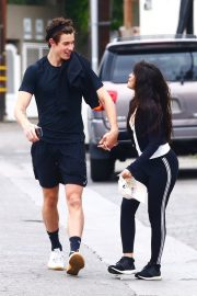 Camila Cabello and Shawn Mendes enjoy a Coffee Date in West Hollywood 2019/07/07 8