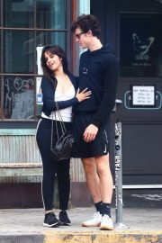 Camila Cabello and Shawn Mendes enjoy a Coffee Date in West Hollywood 2019/07/07 11