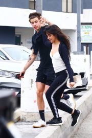 Camila Cabello and Shawn Mendes enjoy a Coffee Date in West Hollywood 2019/07/07 13