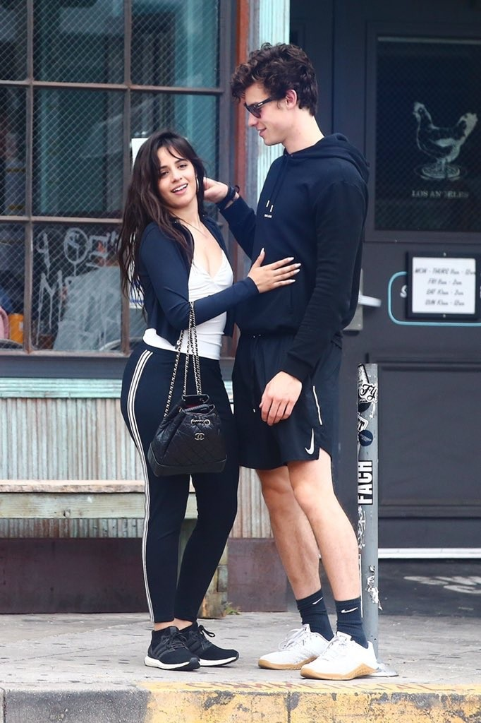 Camila Cabello and Shawn Mendes enjoy a Coffee Date in West Hollywood 2019/07/07 18