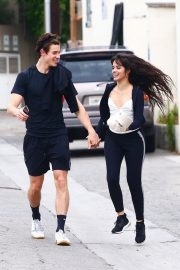 Camila Cabello and Shawn Mendes enjoy a Coffee Date in West Hollywood 2019/07/07 20