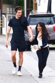 Camila Cabello and Shawn Mendes enjoy a Coffee Date in West Hollywood 2019/07/07 23