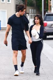 Camila Cabello and Shawn Mendes enjoy a Coffee Date in West Hollywood 2019/07/07 29
