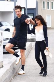 Camila Cabello and Shawn Mendes enjoy a Coffee Date in West Hollywood 2019/07/07 35