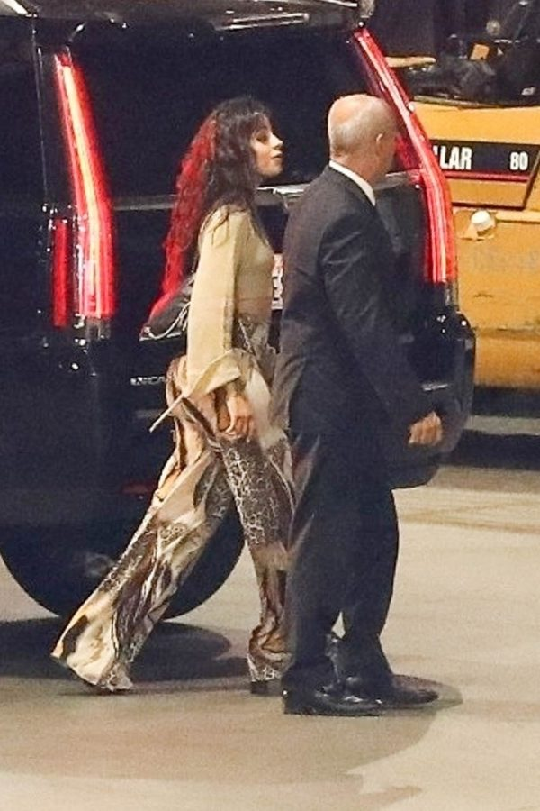 Camila Cabello Arrives for Los Angeles Show at the Staples Center 2019/07/07 2