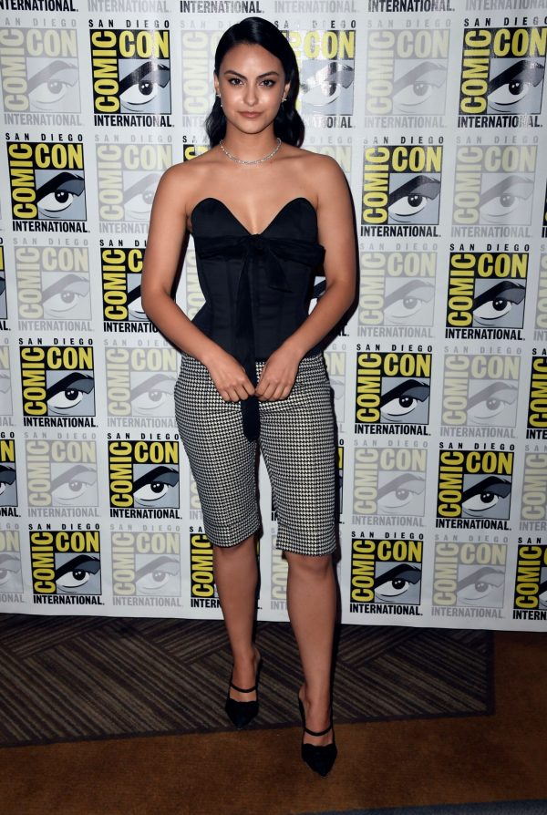 "Camila Mendes attends 2019 Comic-Con International ""Riverdale"" at Hilton Bayfront 2019/07/21 4"