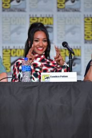 Candice Patton attends at The Flash Special Video Presentation during Comic-Con International at San Diego 2019/07/20 3