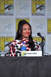 Candice Patton attends at The Flash Special Video Presentation during Comic-Con International at San Diego 2019/07/20 5