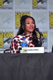 Candice Patton attends at The Flash Special Video Presentation during Comic-Con International at San Diego 2019/07/20 6