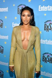 Candice Patton attends Entertainment Weekly Comic-Con Celebration at Hard Rock Hotel San Diego 2019/07/20 2