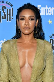 Candice Patton attends Entertainment Weekly Comic-Con Celebration at Hard Rock Hotel San Diego 2019/07/20 4