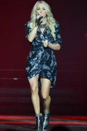 Carrie Underwood performs at The SSE Hydro in Glasgow 2019/07/02 21