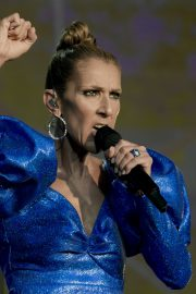 Celine Dion performs British Summer Time Festival at Hyde Park in London 2019/07/05 3