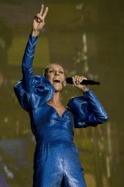 Celine Dion performs British Summer Time Festival at Hyde Park in London 2019/07/05 9