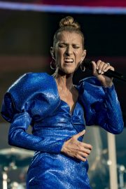 Celine Dion performs British Summer Time Festival at Hyde Park in London 2019/07/05 11