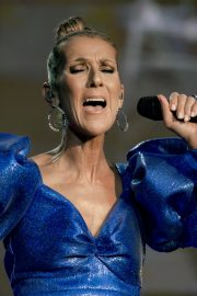 Celine Dion performs British Summer Time Festival at Hyde Park in London 2019/07/05 23